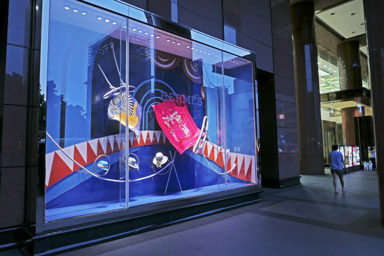 Hermes Window Design
